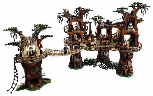 LEGO-Ewok-Village